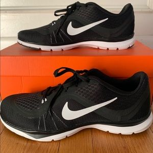 Nike Flex 6 Training Shoe Black White